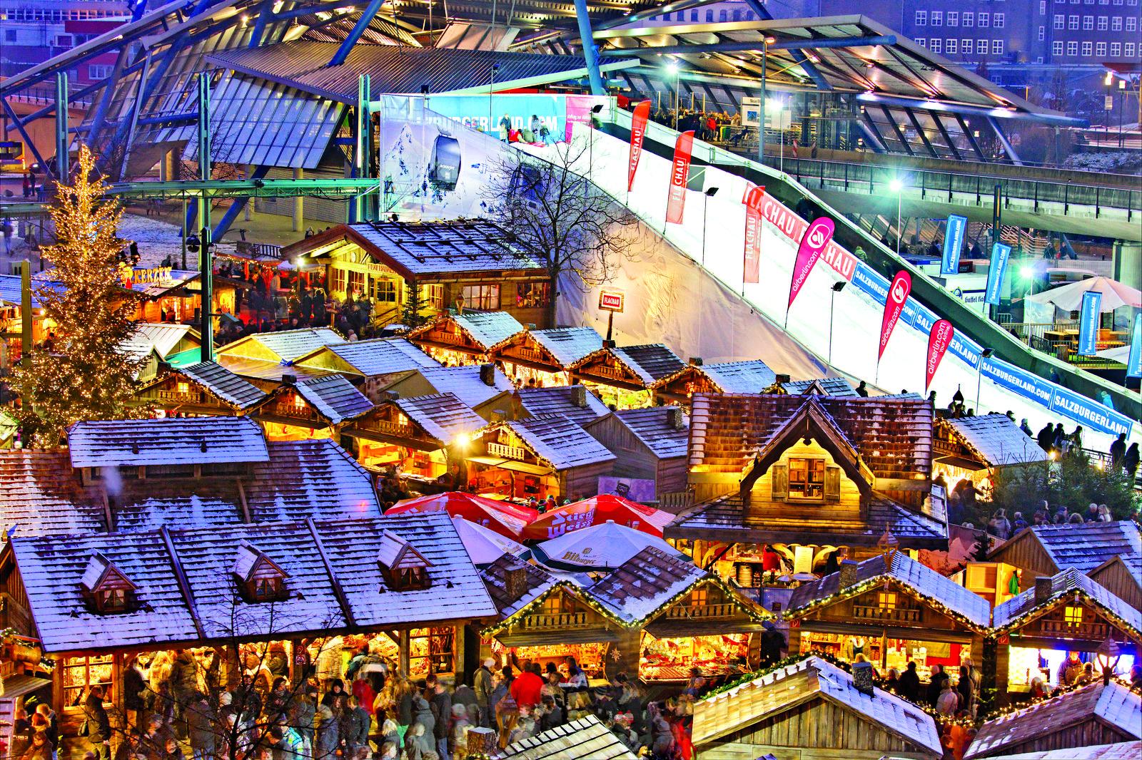Kerstmarkt Centro Oberhausen 2017