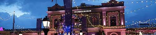 Allerhande Kerstfestival vanuit het sprookjesachtige spoorwegmuseum