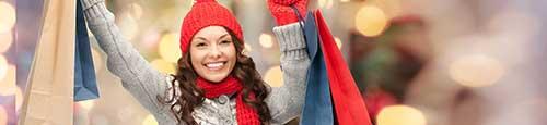 Winterkleding op de kerstmarkt: winterjassen en sportkleding