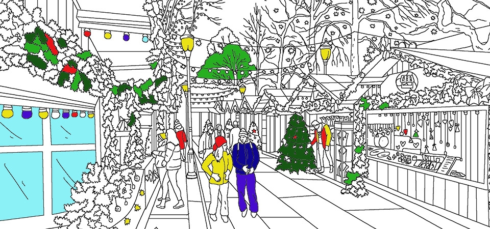 Kleurplaten Voor Volwassenen Amsterdam.Kerstmarkten Net Prijsvragen Gratis Toegangskaartjes Voor Leuke