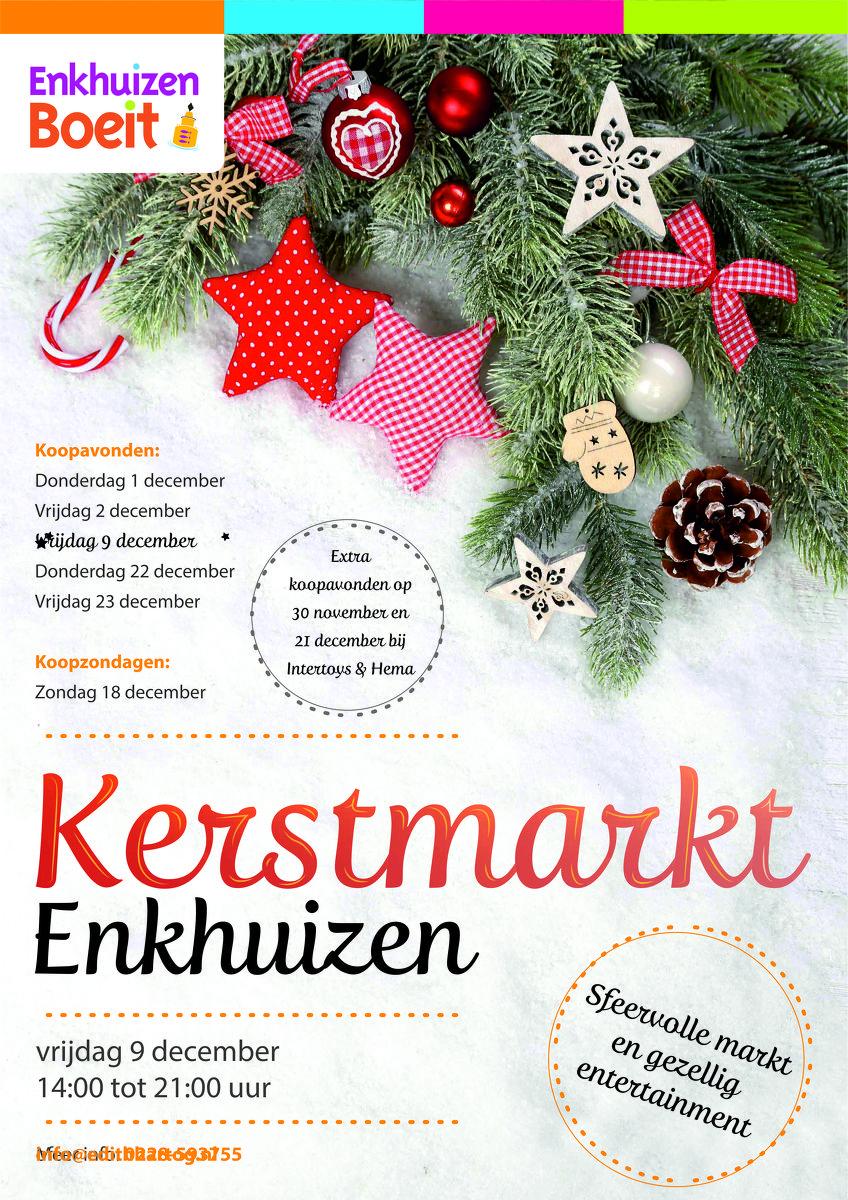 Kerstmarkt Enkhuizen 2017