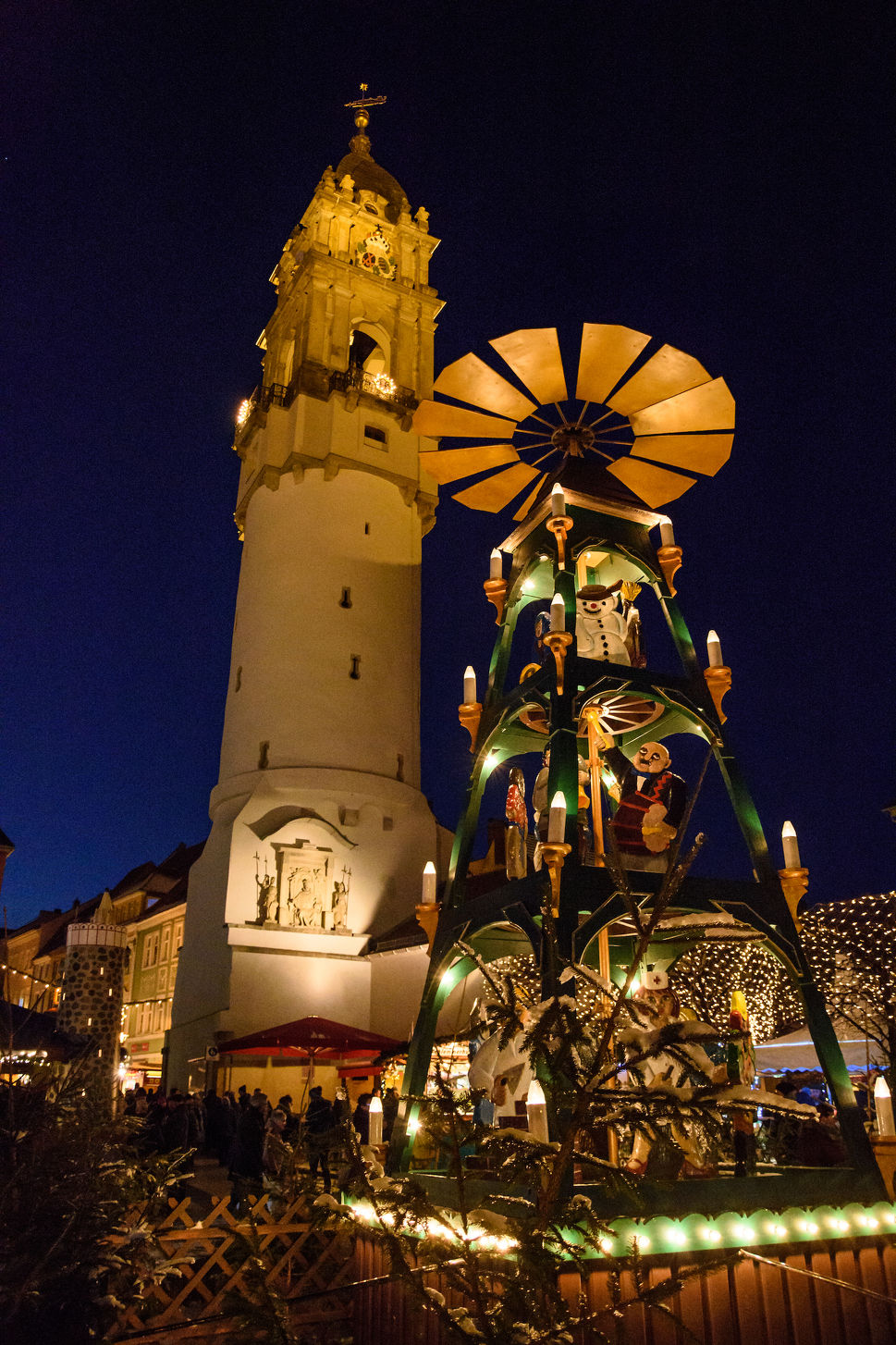 Bautzener Wenzelsmarkt in Bautzener