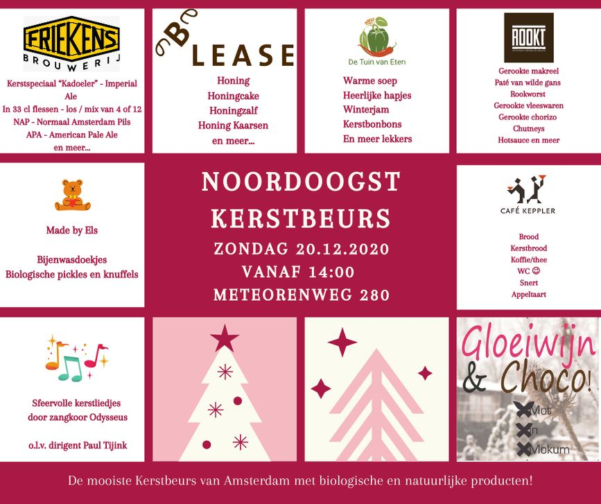 Kerstbeurs NoordOogst in Amsterdam