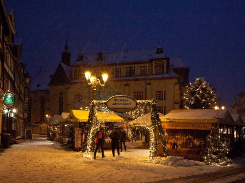 Kerstflair in Wetzlar in Wetzlar