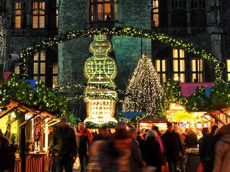Kerstmarkt Aken (Aachen) in Aken