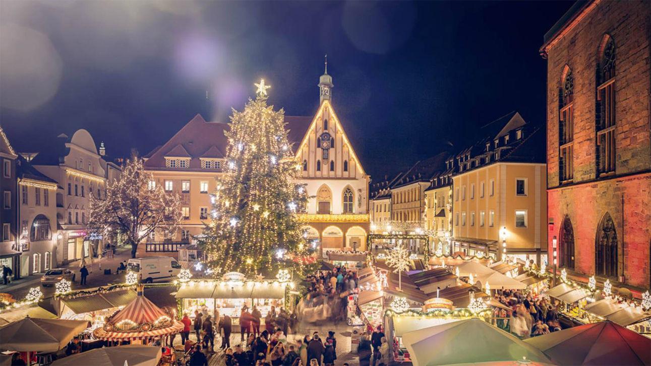 Kerstmarkt Amberger in Amberg