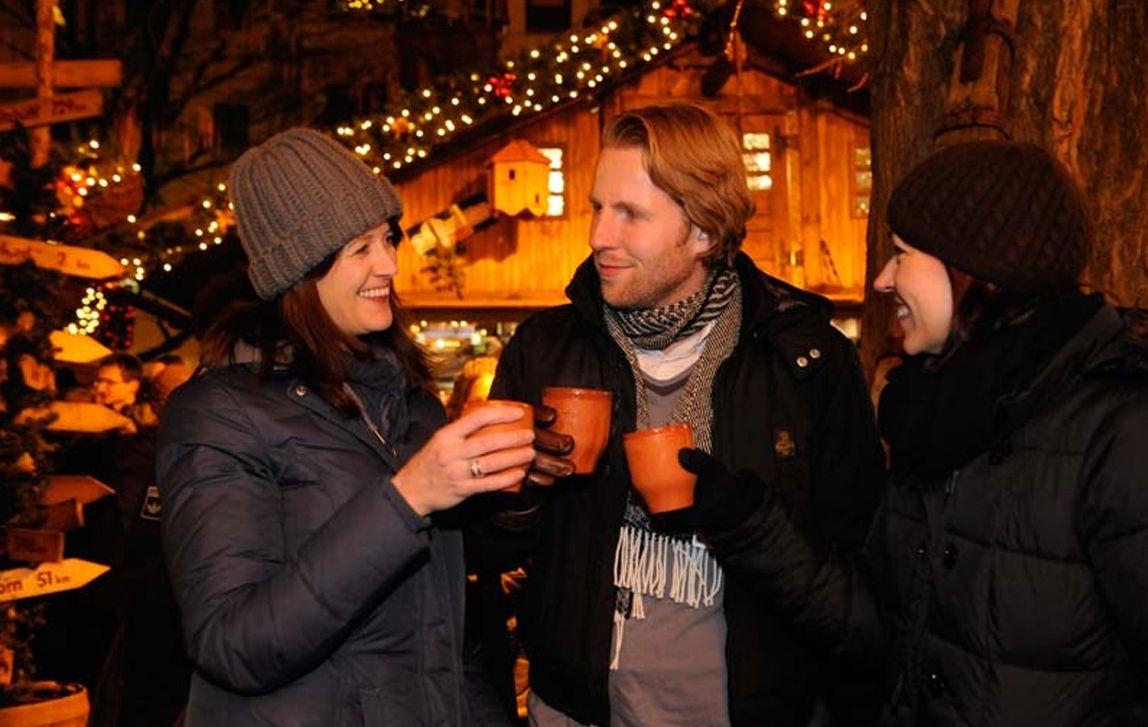 Kerstmarkt Bielefeld Duitsland in Bielefeld