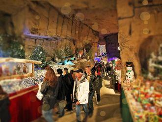Kerstmarkt Gemeentegrot Valkenburg in Valkenburg