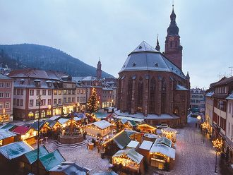 Kerstmarkt Heidelberg in Heidelberg