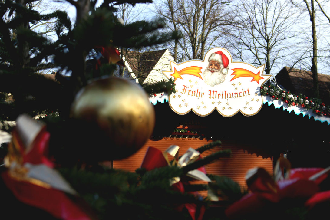 Kerstmarkt in Heide in Heide