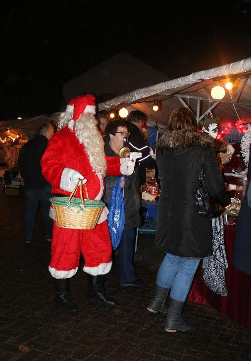 Kerstmarkt in het Maaskantje in Maaskantje