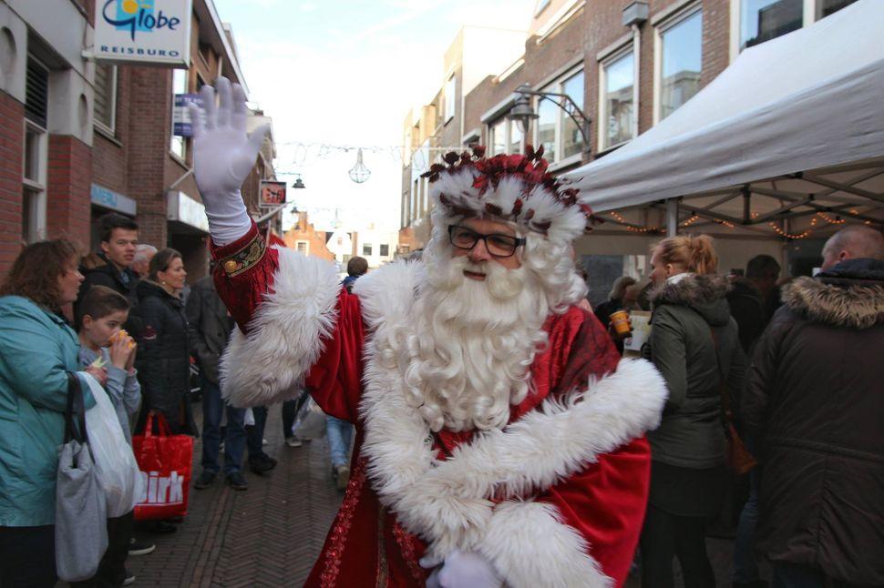De Kerstman in Noordwijk