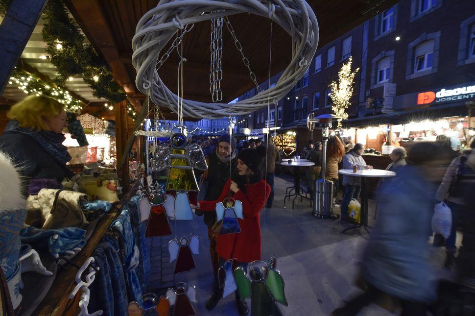 Kerstmarkt van Eupen in Eupen