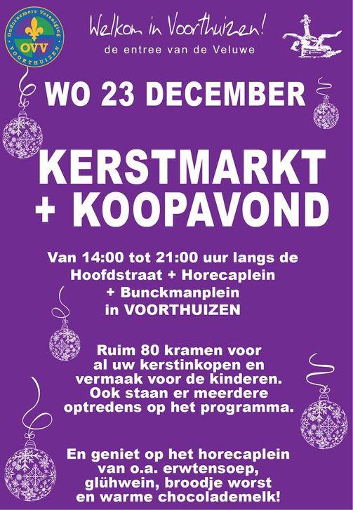 Kerstmarkt Voorthuizen in VOORTHUIZEN