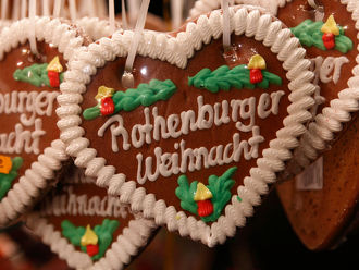 Kerstmarkt Rothenburger Kerstmarkt in Rothenburg ob der Tauber