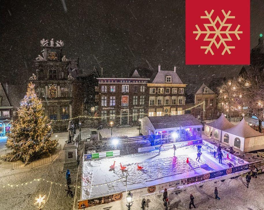 Schaatsbaan Roode Steen in Hoorn in Hoorn