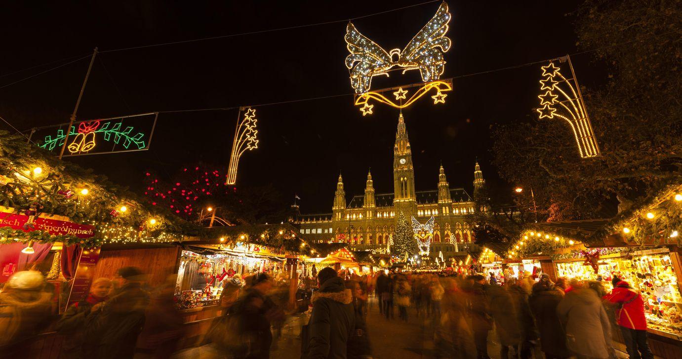 Wiener Weihnachtstraum am Christkindlmarkt in Wenen