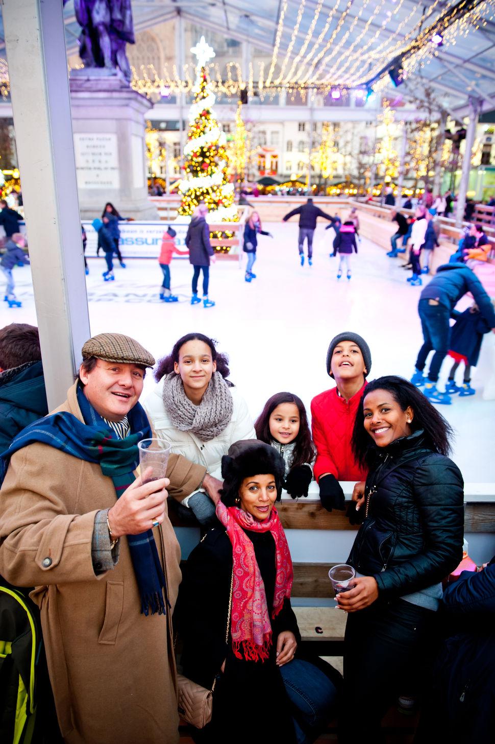 Winter in Antwerpen in Antwerpen