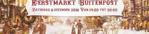 Kerstmarkt Buitenpost in Charles Dickens stijl