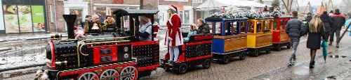 Kerstmarkt in centrum van Schijndel