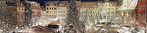 Kerstmarkt in Jena