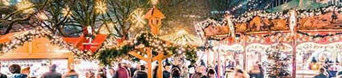 Kerstmarkt in Kiel