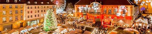 Kerstmarkt in Maagdenburg (Magdeburg)