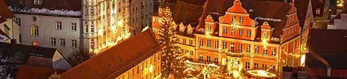 Kerstmarkt in Memmingen