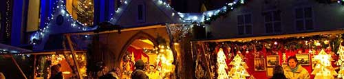 Romantische kerstmarkt in Füssen