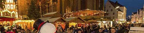 Scandinavische kerstmarkt in Flensburg