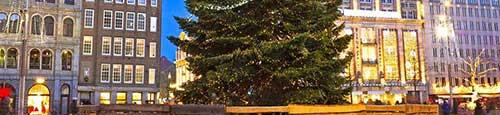 Kerst-kado-wintermarkt winkelcentrum Hoge Vucht Breda