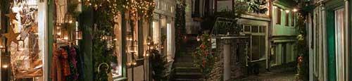 Kerstmarkt in Monschau