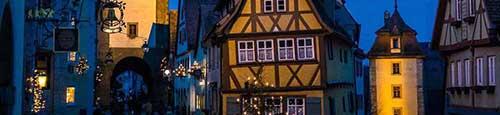 Romantische kerstmarkt in Nördlingen