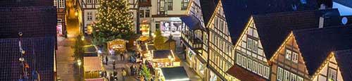 Historische kerstmarkt Osnabrück