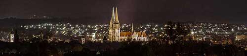 De Regensburg kerstmarkt - Christkindlmarkt