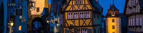 Kerstmarkt in Straubing